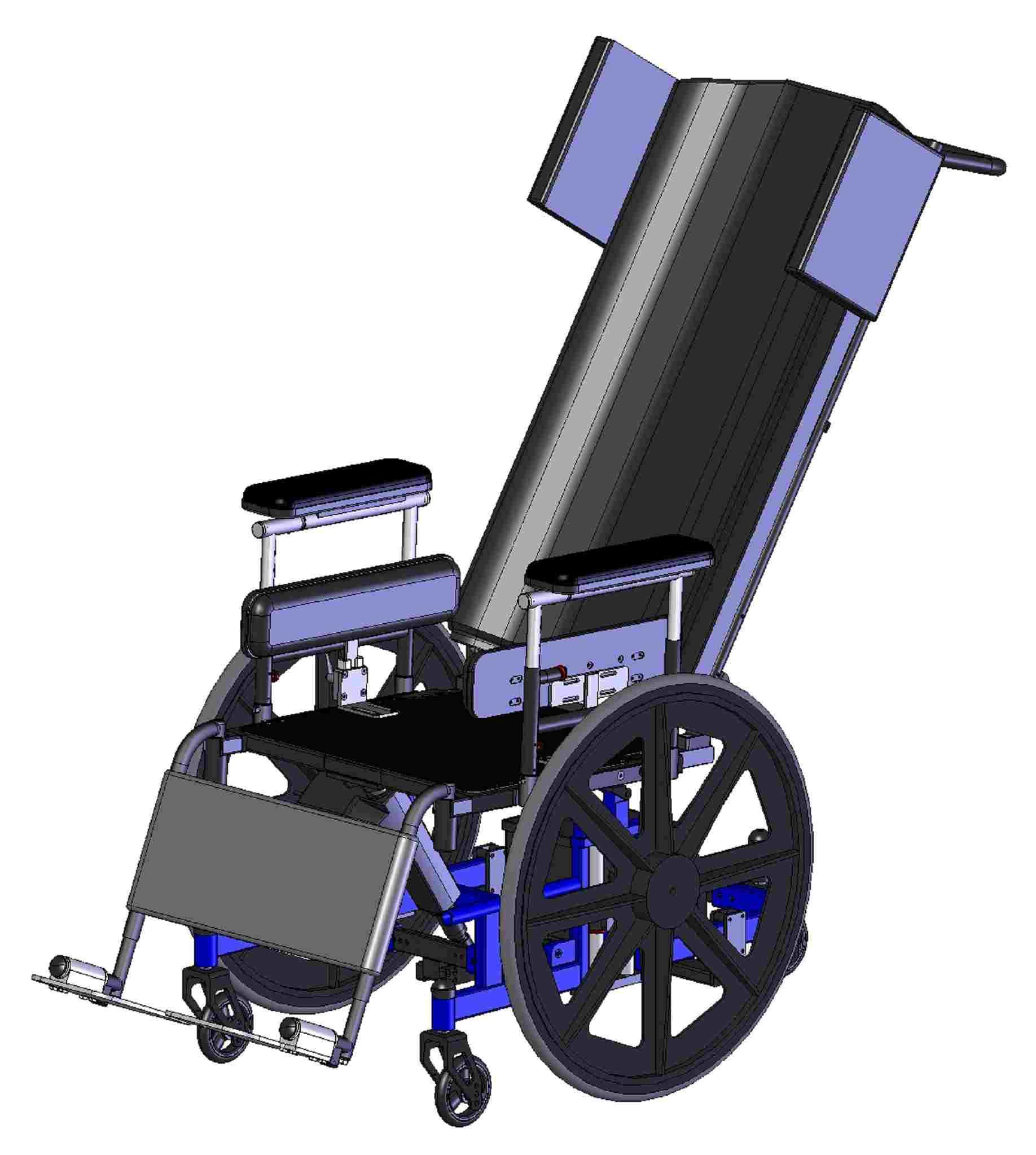 wheelchair manual hanging chair london falcon rehabilitation products midwheel tilt n