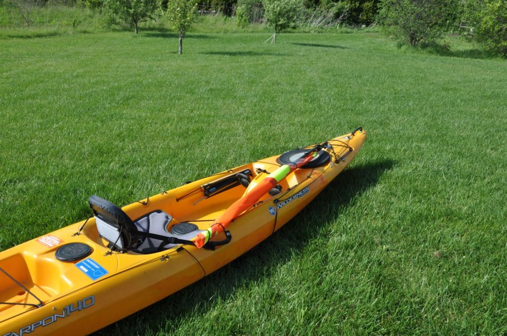 medium resolution of kayak sail lowered kayak sail stowed