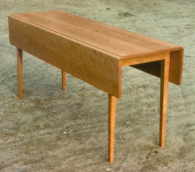 Wood Work Shaker Drop Leaf Dining Table Plans PDF Plans