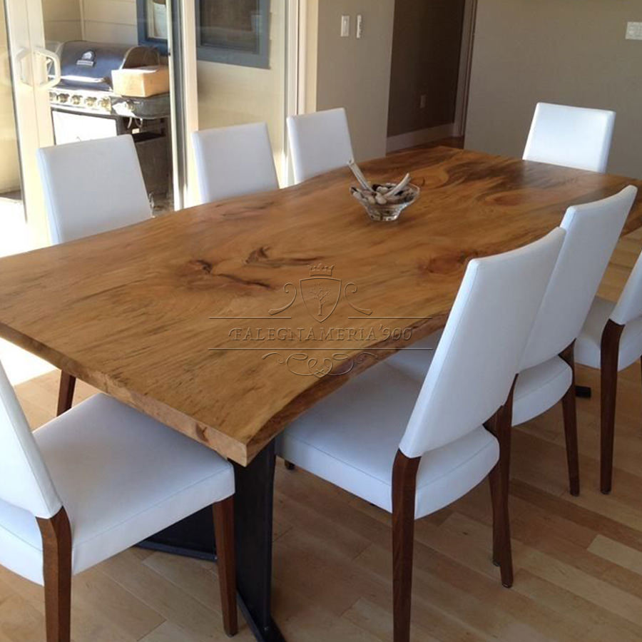 Tavolo in legno massello modello Butterfly