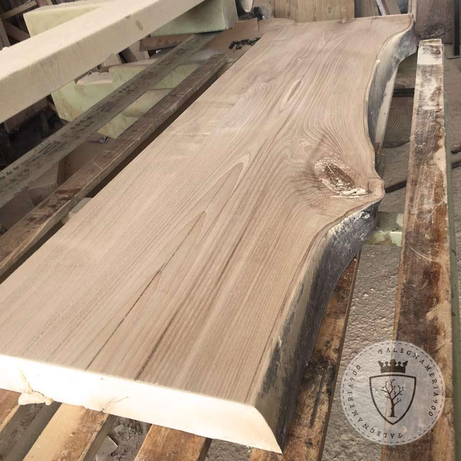Mensola in legno massello di castagno  Falegnameria900