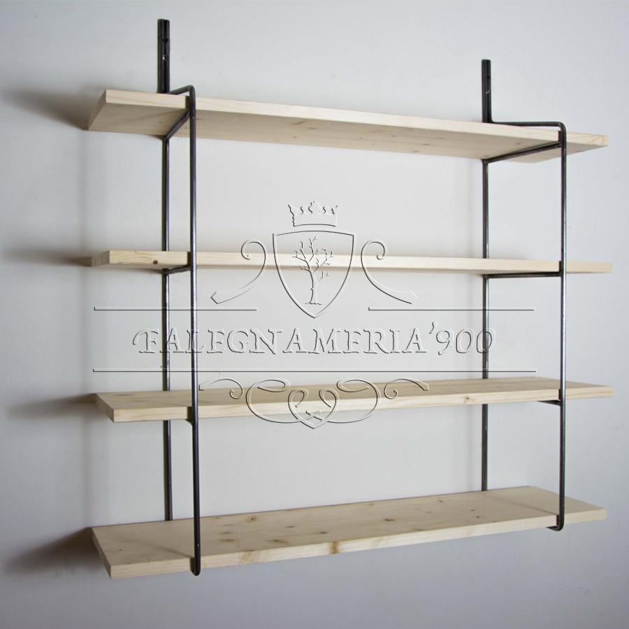 Mensole libreria da parete in legno massello  Falegnameria900