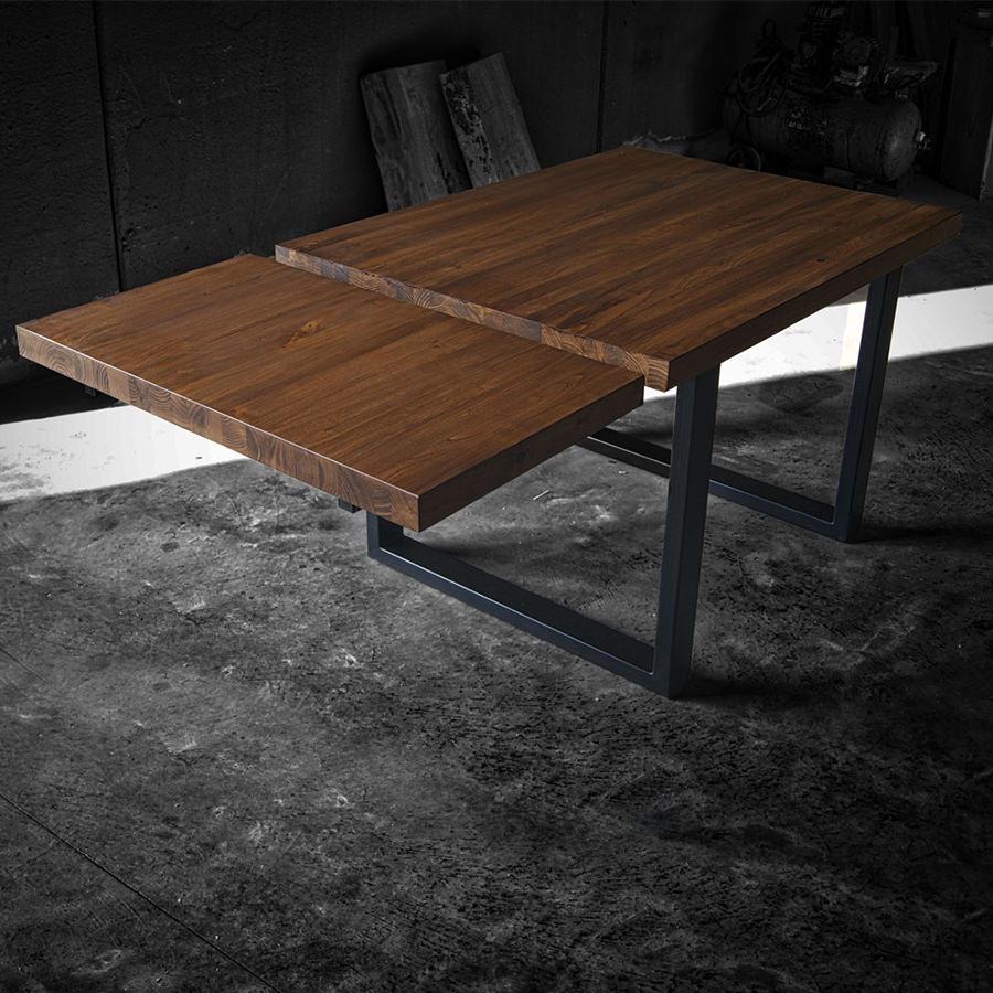 Tavolo in legno massello con prolunga  Max  Acquistalo