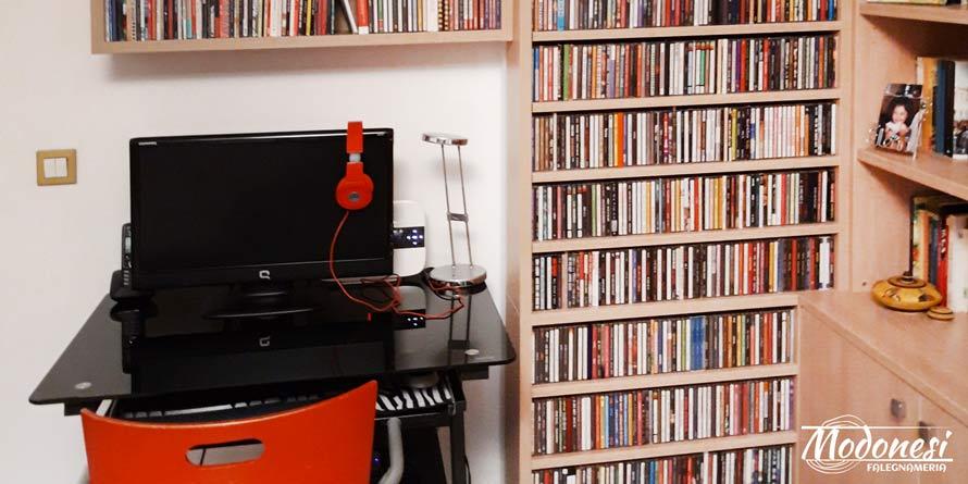 Mobili soggiorno su misura con portaCD a Settimo Milanese