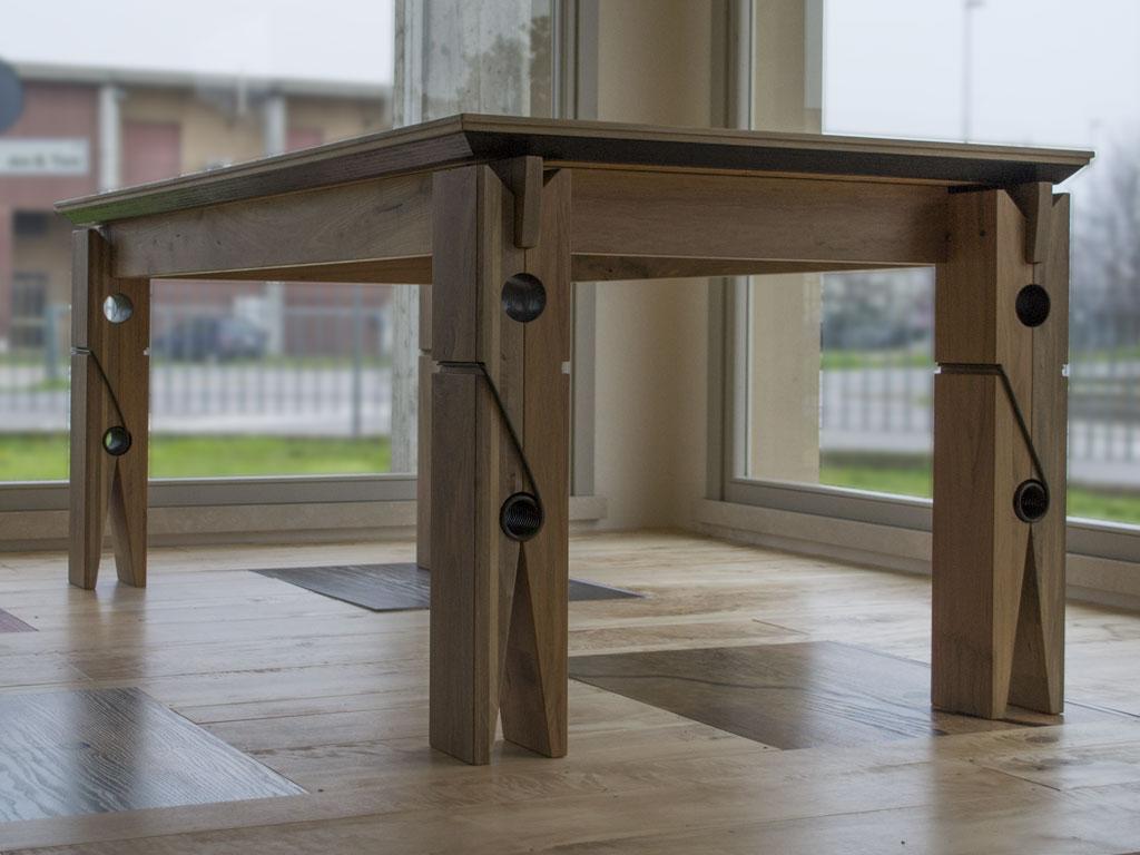 Sedie e tavoli in legno  Falegnameria Samuelli  Dello Brescia