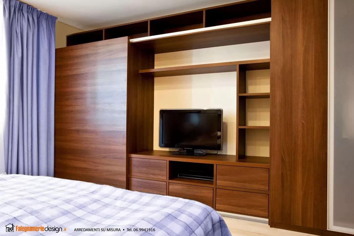 armadio in legno camera da letto  Arredamenti e Mobili su misura roma