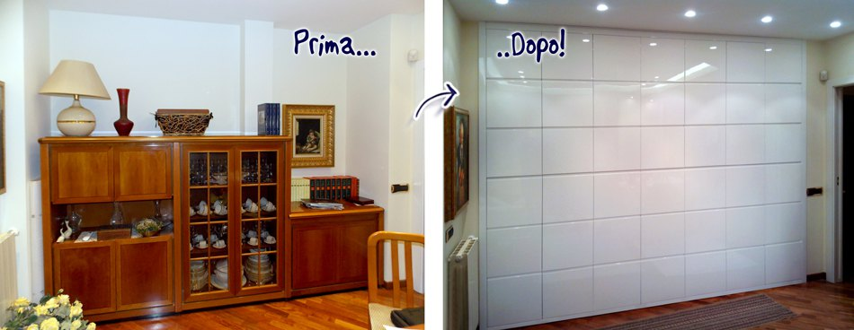 Trasformare una stanza con mobili su misura  Falegnamerie Design