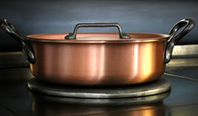 cast iron kitchen stove cost of building a island why should i choose copper pots and pans? - falk culinair