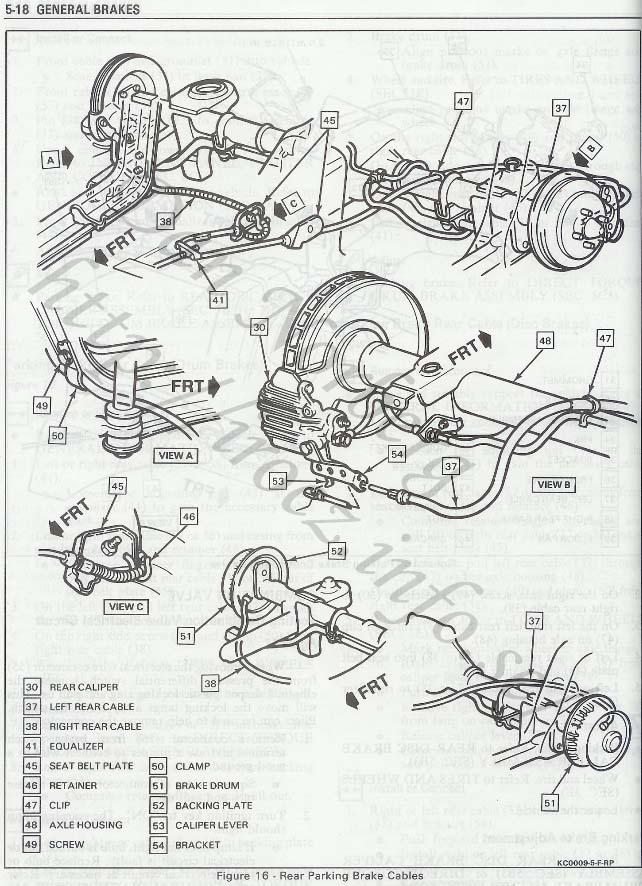 Camaro Iroc-Z 1989 Picture Galleri