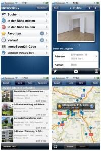 immoscout24 jetzt auch als iphone app, wohnungssuche ...