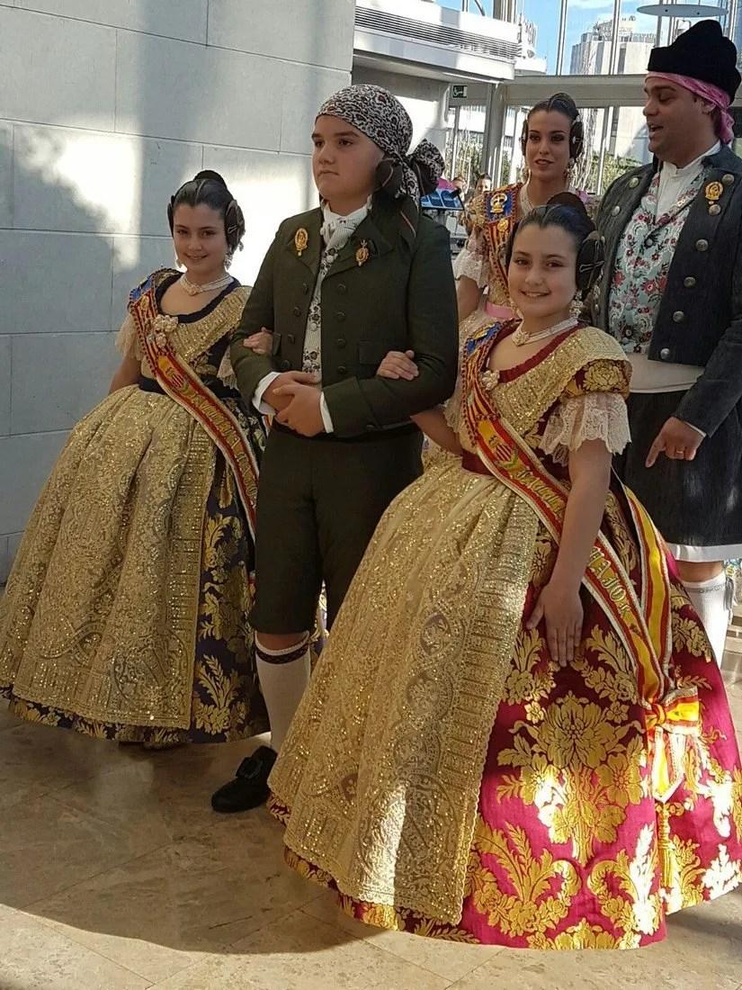 Exaltacion Falleras Mayores - Agrupacion Fallas Maritimo