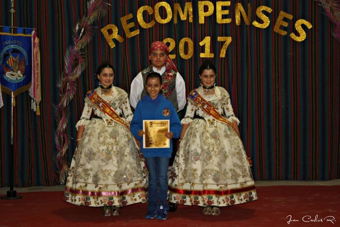 Entrega Recompensas Infantiles 2017