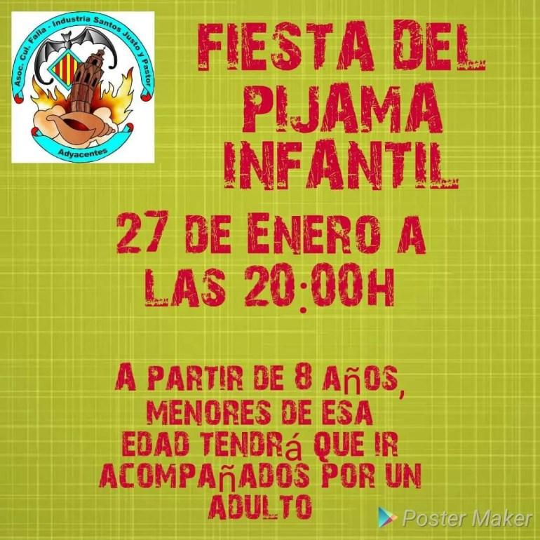 Fiesta Pijamas Infantil 2018 Falla Industria