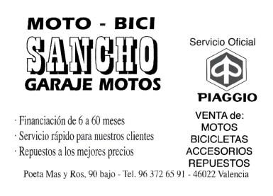 18 MOTO-BICI SANCHO