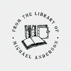 Personalized Library Stamps and Book Stamps