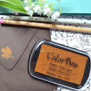 Metallic Copper Ink Pad