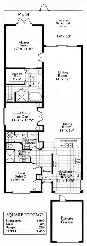 Specifications of our Condominium at Falling Waters