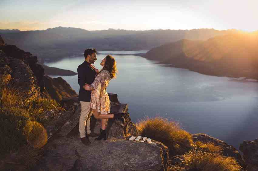 surprise mountain top proposal