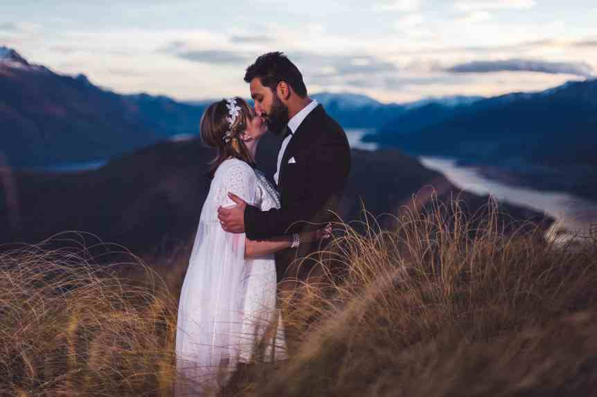 Winter Queenstown Pre Wedding Photography