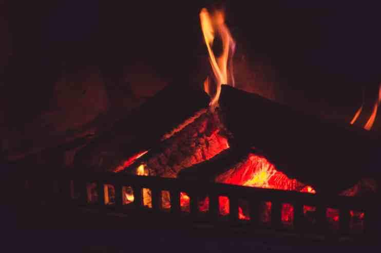 Millbrook Resort winter wedding clubhouse restaurant fire