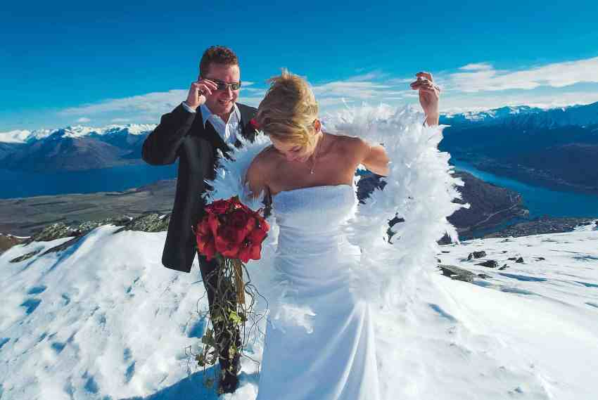 queenstown winter wedding tips