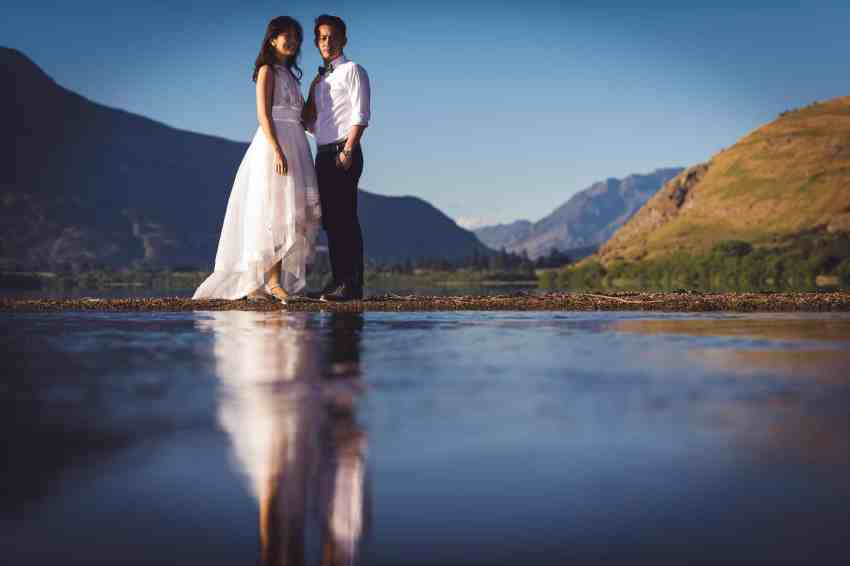 Coronet Peak Sunrise Pre-wedding shoot
