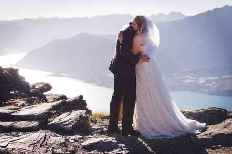 Queenstown Autumn Heli Wedding Kaia & Blake Heliworks