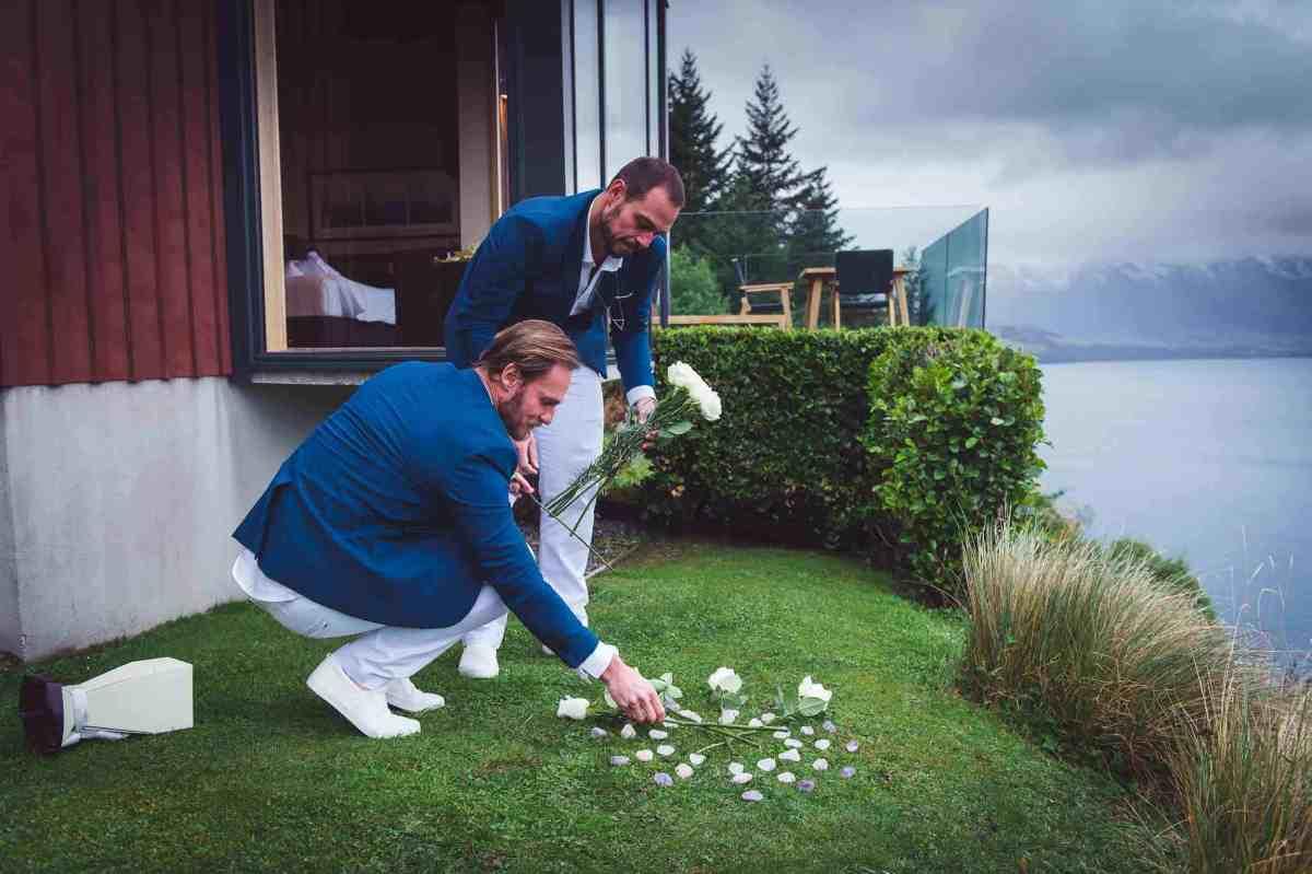 Edu & Paulo's Azur Luxury Lodge Queenstown Elopement