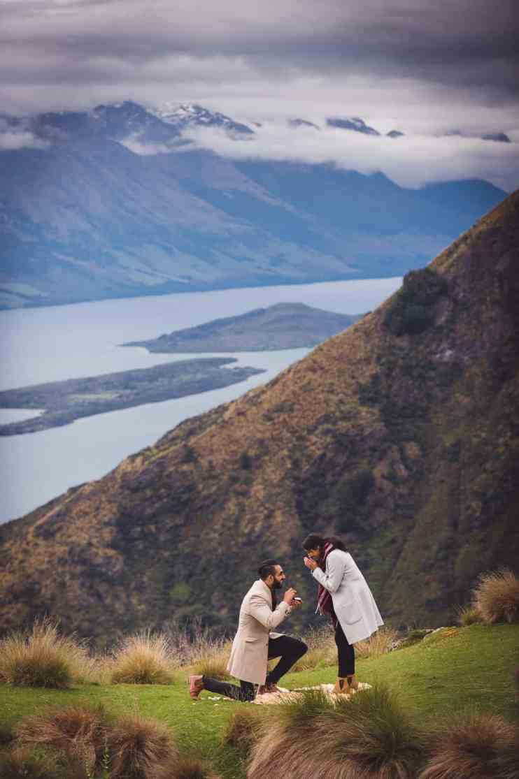 Surprise Queenstown Heli Proposal Glenorchy