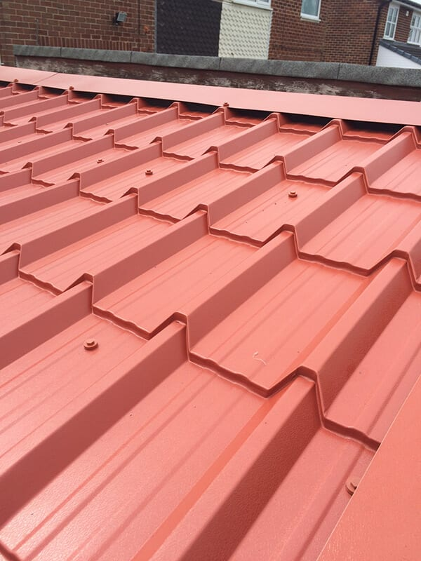 roofing materials supplies tile effect roofing sheets in chester box profile corrugated steel metal tin business office industrial supplies
