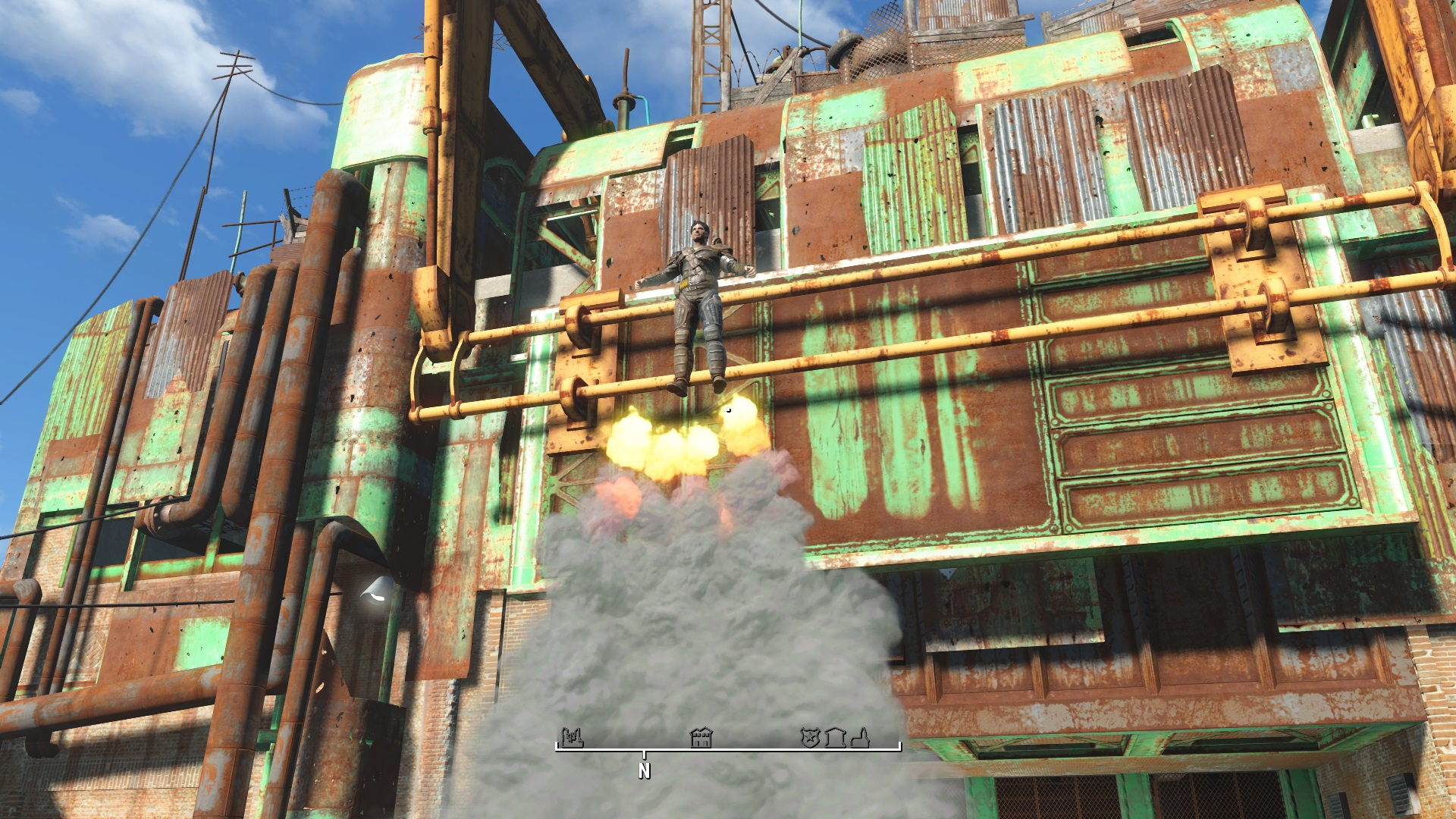 FO4 Ring Of Jetpack Ability Fallout 4 FO4 Mods