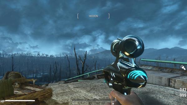 Metalic Alien Blaster - Fallout 4 Fo4 Mods