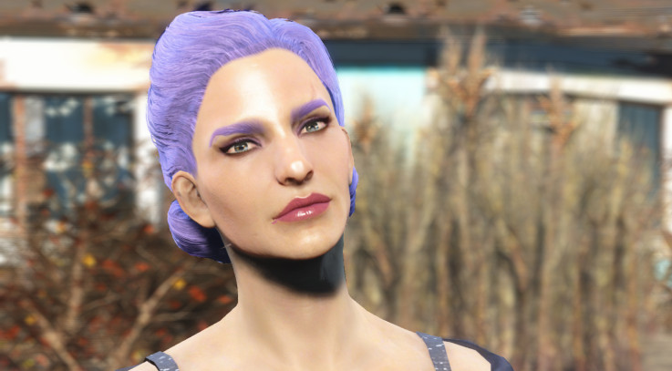 Hair And Face Models Fallout 4 Mods