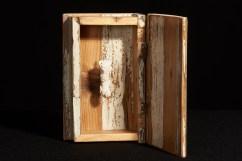 FALLO BIANCO 01 2017 Resina e scatola in legno dei primi del '900. TIRATURA LIMITATA - Fallo fiorire.
