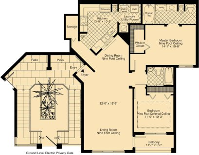 2 Bed / 2 Bath / 1,265 sq ft / Rent: Call for Details