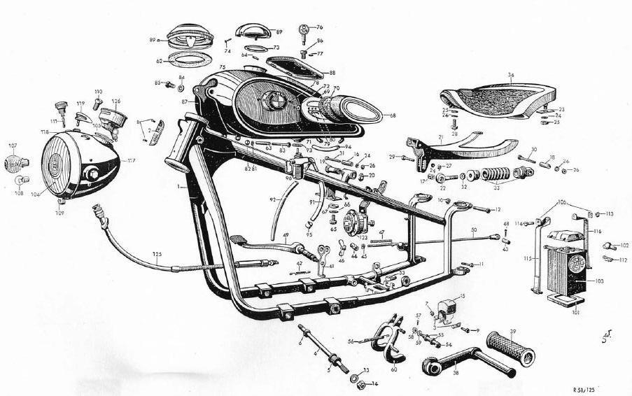Bmw Engine Cutaway Drawings, Bmw, Free Engine Image For
