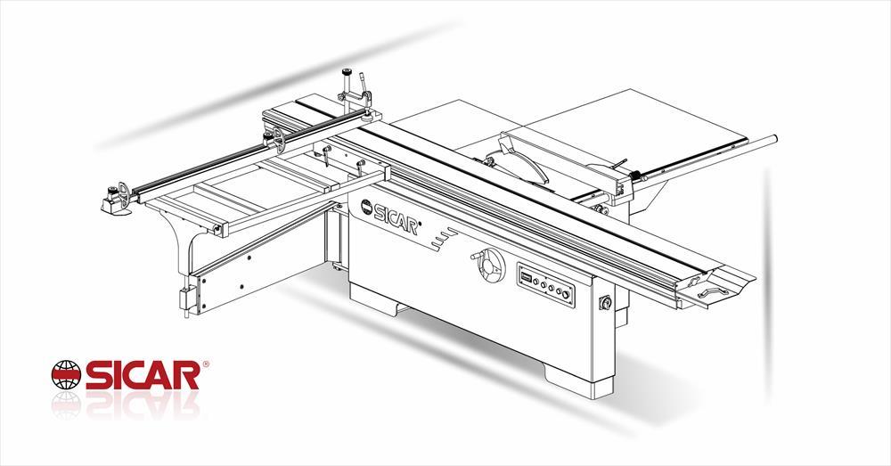 New sliding table saw ma.co.2.l.sega 315 MA.CO.2L on sale