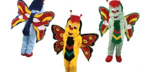 mascotte insetti