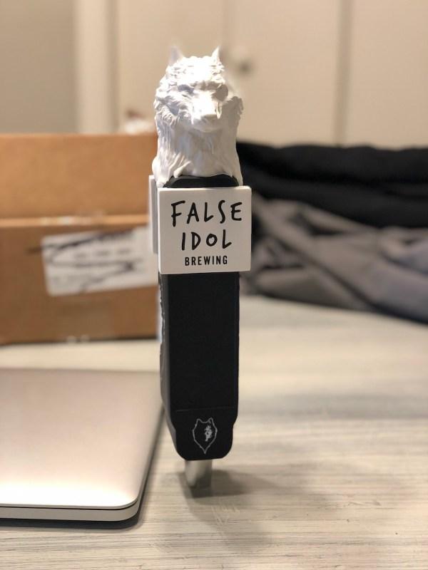 False Idol Brewing Tap Handle 1