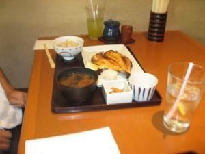 Torafuku grilled fish