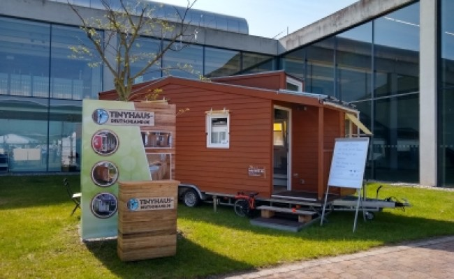 Messe New Housing Tiny House Festival 2019 In Karlsruhe
