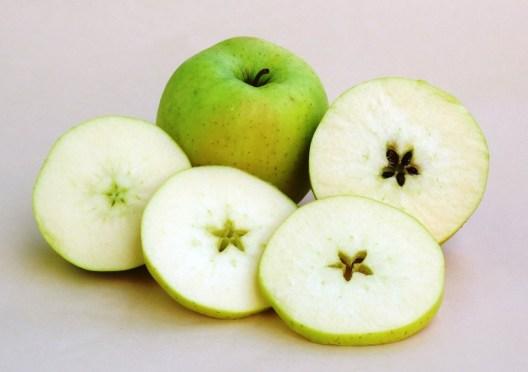 蘋果裡的星星(圖)