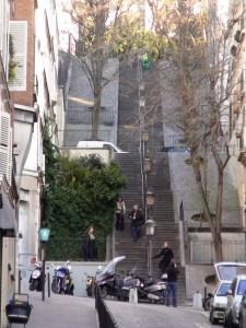 Monmatre trappen