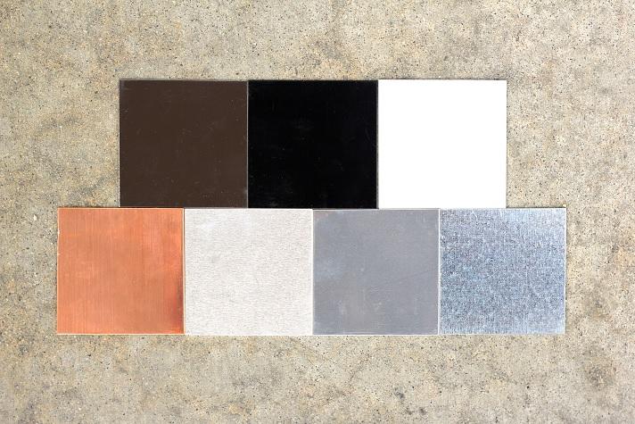 FAMCO Metal Material Options