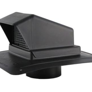 Plastic Bath Fan / Kitchen Exhaust - Roof Vent with Stem-0