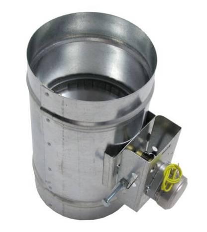 Motorized HVAC Damper – Normally Closed-0