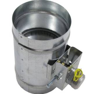 Motorized HVAC Damper – Normally Closed-0