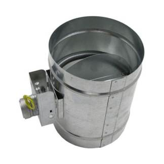 Motorized HVAC Damper – Normally Open-0