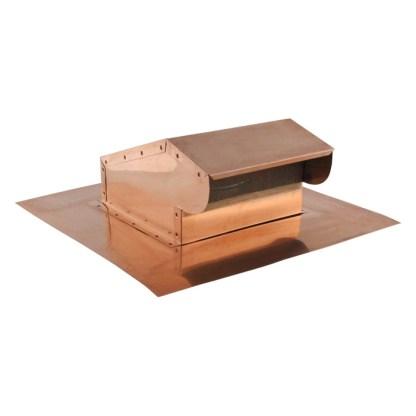 Bath Fan / Kitchen Exhaust - Roof Vent - Copper-0