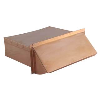 Rectangular Wall Vent 3-1/4 in. x 10 in. - Copper-0
